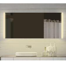 Design Badezimmerspiegel Wandspiegel mit Led in Warm-/Kaltweiß SPS140X72DP