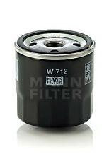 2x Oil Filters W712 Mann 7884256 7965051 7973235 7973429 7984256 Quality New