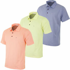 Men's Short Sleeve Stretch Cotton Blend Casual Shirts & Tops