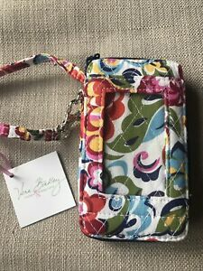 VERA BRADLEY All In One Wristlet HOPE GARDEN New With Tags WALLET Exact