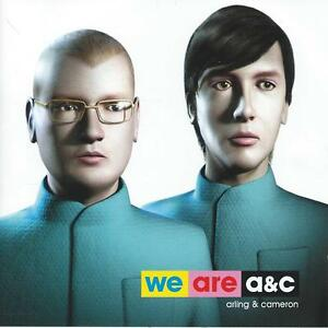 cd album WE ARE ARLING & CAMERON A & C  HOLLAND DANCE