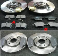 PEUGEOT 307 CC BRAKE DISCS PADS FRONT REAR 302MM