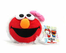 "New Hello Kitty x Sesame Street 4"" Kitty Elmo  3401 Plush Doll by FurYu!"