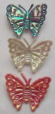 THREE BUTTERFLY BROOCHES