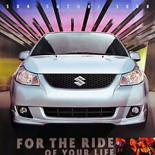 2008 Suzuki SX4 Crossover/Sport new vehicle brochure