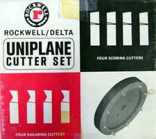 Rockwell Uniplane Cutter Set - NEW - Solid CARBIDE!! (Made to order)