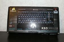 FOR PARTS Corsair K63 Wireless Mechanical Gaming Keyboard NOT WORKING