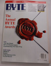 Byte Magazine The Annual Byte Awards January 1989 111314R1