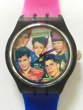 New Kids on the Block NKOTB watch - Retro 80s designer watch