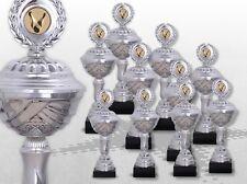 10er Pokale SilverLiberty mit Gravur und Emblem günstige Pokale kaufen