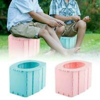 Portable Travel Folding Toilet Urinal Seats For Camping Trip Useful Long F2W9
