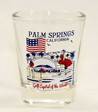PALM SPRINGS CALIFORNIA GREAT AMERICAN CITIES COLLECTION SHOT GLASS SHOTGLASS