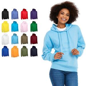 Ladies & Girls Loose Fit Hoodie Sweatshirt Size 6 to 32 - SPORT CASUAL LEISURE