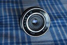 INDUSTAR-69 2,8/28 M39 lens for CHAIKA-2, -3  half frame camera