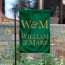 William & Mary Tribe New Logo Garden Flag and Yard Banner