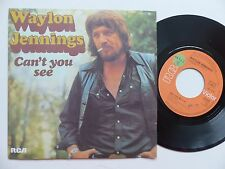 WAYLON JENNINGS Can't you see PB 10721 Pressage France Discotheque RTL