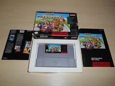 Super Mario Kart Game Complete Super Nintendo CIB SNES Canada Canadian Version