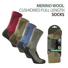 Merino Wool Walking - Hiking Socks with Cushioning - Leonardo
