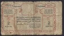 More details for hungary.  notgeld, beregszasz, 2 korona, 1.9.1919.