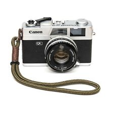 Khaki Braided Marine Rope Hand Camera Strap, Brown Thread - Fits Fuji, leica Etc