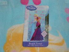 "New, Disney Frozen Beach Towel, 28"" X 58"""