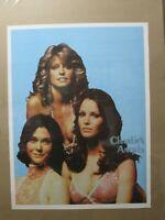 Vintage Poster Charlie's Angels 1970's Inv#G4991