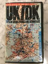 Rare UK/DK A Film About Punks and Skinheads VHS Tape 1994