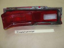 OEM 1974 74 Dodge Dart LEFT DRIVER SIDE TAIL LIGHT TAILLIGHT BACKUP REVERSE LENS