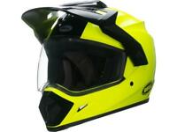 CASQUE INTEGRAL BELL ADVENTURE MX-9 SOLID YELLOW CHOIX TAILLE XS / XXL
