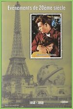 Guinea 1999 Millenium,  James Dean miniature sheet UM, MNH