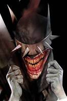 BATMAN WHO LAUGHS #2 OLIVER VARIANT DC COMICS JOKER METAL