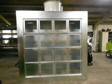 Jc-Ew 10'X7' Wide Spray Paint Booth Exhaust Wall