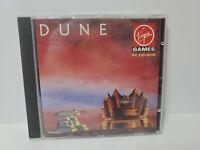 Dune CD-ROM PC DOS Game (1993) Virgin Cryo Interactive Rare