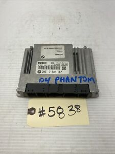 2004 Rolls Royce Phantom ECU DME Engine Computer Module Unit OEM 7535637