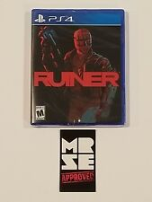 Ruiner Special Reserve Games Limited Run Exclusive Variant PS4 1000 copies New