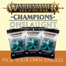 Warhammer Champions ONSLAUGHT Singles (C-U-R -NON FOIL)