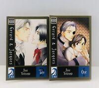 Gerard & Jacques Vol. 1-2 Yaoi Manga by Yoshinaga Fumi English