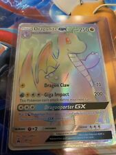 New ListingPokemon Dragonite Gx Full Art Rainbow Dragon Magesty