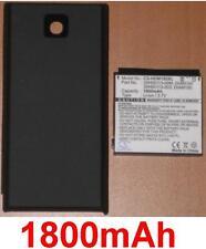 Coque + Batterie 1800mAh type 35H00113-003, DIAM160 Pour O2 XDA Ignito