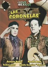DVD  - Las Coronelas NEW Vive Mexico - Antonio Badu Martha Roth FAST SHIPPING !