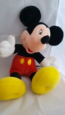 Vintage Mickey Mouse Soft Toy Plush Mickey For Kids