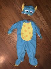 InCharacter Costume Lil Monster Blue Monsters Inc Dress Up Size S ❤️tb11j1