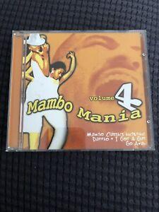 Mambo Mania Volume 4 CD (Mambo Classics Including Dario . I Got A Girl Go Away