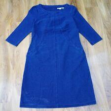 Boden Ladies GORGEOUS HANNAH JERSEY Denim DRESS J0018 UK size 12L.