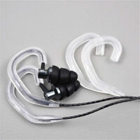2 Pairs Silicone Headphone Earhook Hanger Running Sports Earphone Accessories FS
