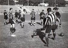 CALCIO  FOTO  PERRUCCI ALLENAMENTO  DELL'INTER  22/8/1953   13 X18 CM