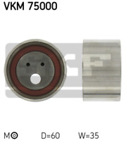 Tensioner Pulley Ribbed V-Belt V-Ribbed VKM 75000 AUX Guide Drive Timing Belt