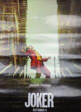 Joker 2019 Movie Film Joaquin Phoenix Poster 11 x 17