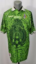 VTG Garcis Mexico Team 1999 Home Camiseta Futbol Footbal Soccer Jersey Shirt XL