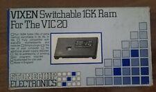 COMMODORE VIC20 espansione cartridge 16K RAM (con swich per scelta memoria )